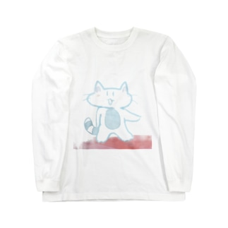 スーサイド・ねこ Long sleeve T-shirts