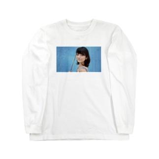 Light blue  Long sleeve T-shirts