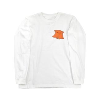 のほほんメンダコ Long Sleeve T-Shirt