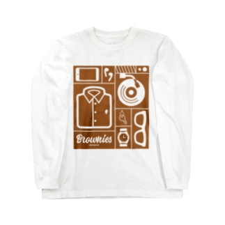 Brownies Works引き出し Long sleeve T-shirts