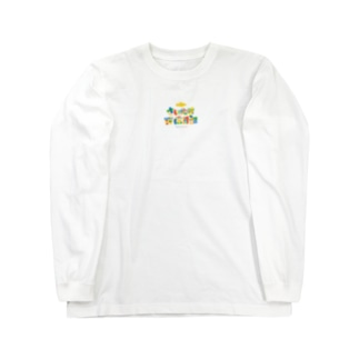 新ブログロゴ Long sleeve T-shirts