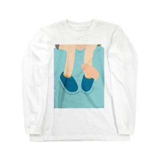 福音をはこぶ足 Long sleeve T-shirts