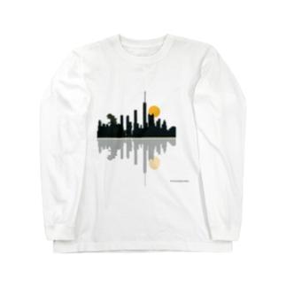 夜景(ゆっくりたいむ) Long sleeve T-shirts