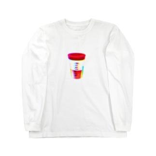 プププロテイン Long sleeve T-shirts