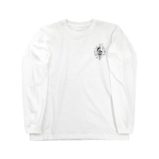 鬼 japanese Long sleeve T-shirts