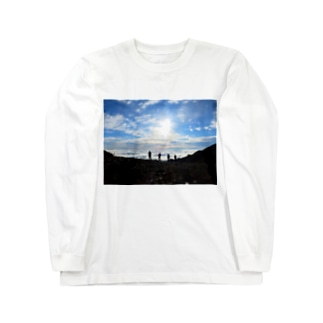 常念乗越 Long sleeve T-shirts
