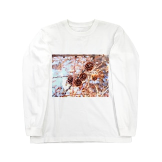 松ぼっくり Long sleeve T-shirts