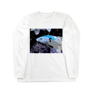 アオゴイ Long sleeve T-shirts