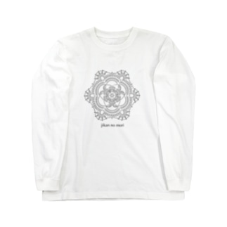 ドイリー 編み図 Long sleeve T-shirts