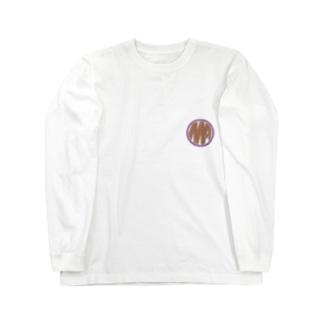 Ms Amaryllis vintage circle logo Long sleeve T-shirts