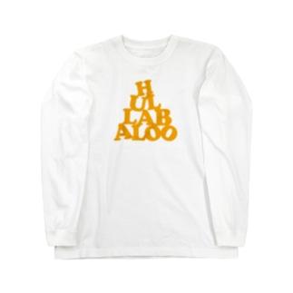 HULLABALOO(ゴーゴー・フラバルー) Long sleeve T-shirts