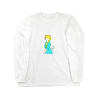 サマーガール Long sleeve T-shirts