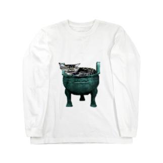 猫鼎 Long sleeve T-shirts