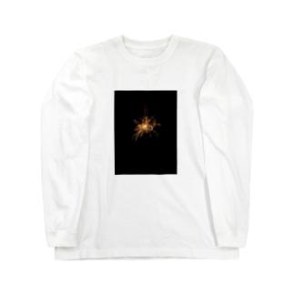 線香花火 Long sleeve T-shirts