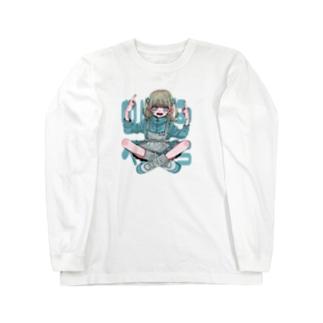 『 めんたるへらへら 』 Long sleeve T-shirts