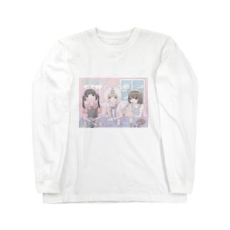 おやつの時間の♡♥♡ Long sleeve T-shirts