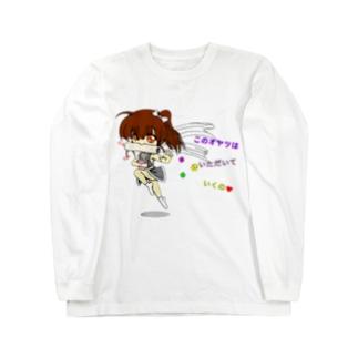 愛娘(仮):くのいち Long sleeve T-shirts