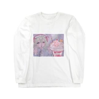 おやつの時間の⁺◟🍒 Long sleeve T-shirts