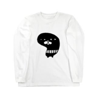 シラトリサン Long sleeve T-shirts