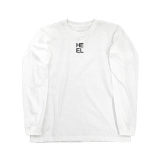 ワンポイントロゴ【HEEL】 Long sleeve T-shirts