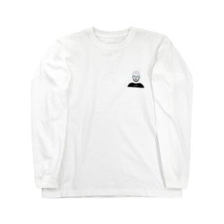 めがねおとこ14(オーバル) Long sleeve T-shirts