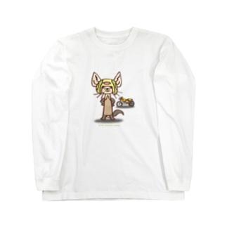 テン:バイカー Long sleeve T-shirts