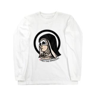 罪のない悪魔の修道女を獲物します。 Long sleeve T-shirts