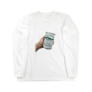 kcsmyoaのCLAM CHOWDER Long sleeve T-shirts