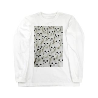 ネコうじゃ Long sleeve T-shirts