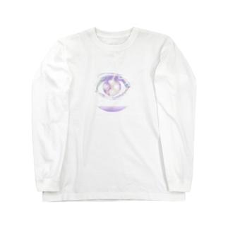 もやもやの目2 Long sleeve T-shirts