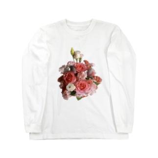 ブーケのある生活 -summer- Long sleeve T-shirts