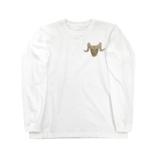 ほねざる Long sleeve T-shirts