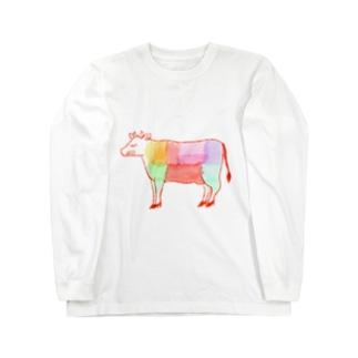 うし好き Long sleeve T-shirts