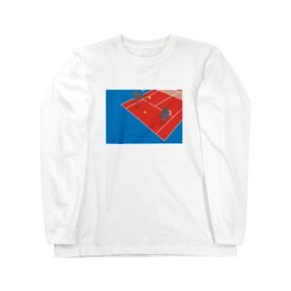 テニスゴリラ Long sleeve T-shirts