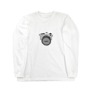 カメラ Long sleeve T-shirts