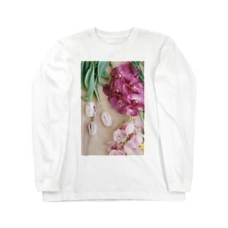 harucamera お花 Long sleeve T-shirts