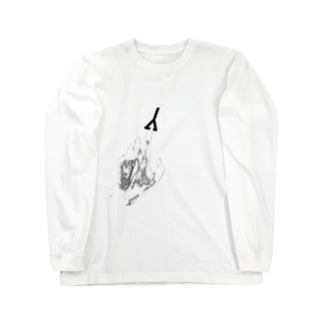 チェンソーみたいな Long sleeve T-shirts