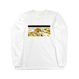 グリッチ_003c Long sleeve T-shirts