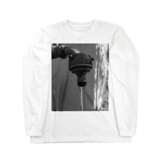 真水 Long sleeve T-shirts