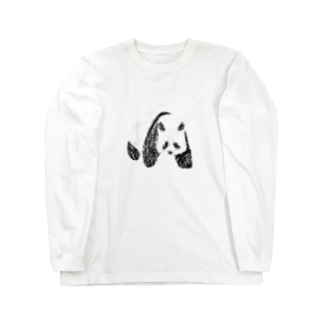 PANDA Long sleeve T-shirts