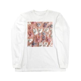 ℂ𝕙𝕚𝕟𝕒𝕥𝕤𝕦 ℍ𝕚𝕘𝕒𝕤𝕙𝕚 東ちなつのシュガーアニマル Long sleeve T-shirts