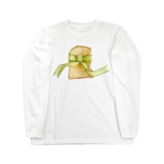 きゅうりリボントースト Long sleeve T-shirts