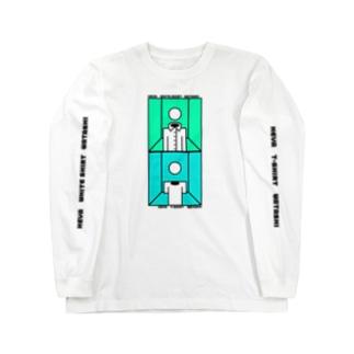 部屋とワイシャツと私とTシャツと私と部屋のTシャツ Long sleeve T-shirts