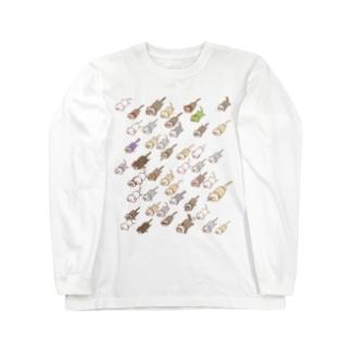 謎のフェレット大艦隊1.1 Long sleeve T-shirts