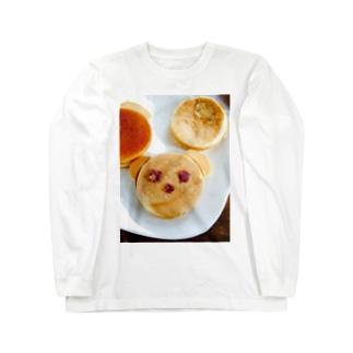 くまちゃん今川焼♡ Long sleeve T-shirts