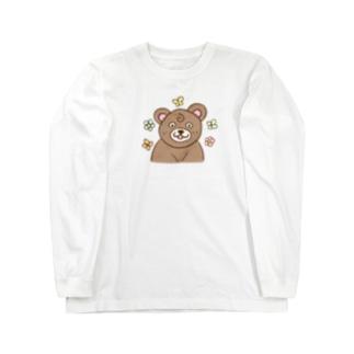 くま太郎 Long sleeve T-shirts