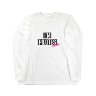 I'M GOD ピロテス Long sleeve T-shirts