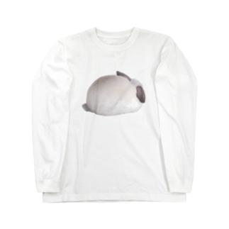 美味しそうなしろちゃん Long sleeve T-shirts