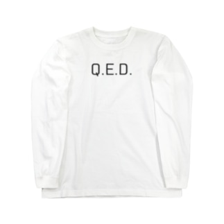 Q.E.D. Long sleeve T-shirts