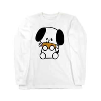 はらぺこわんこ Long sleeve T-shirts